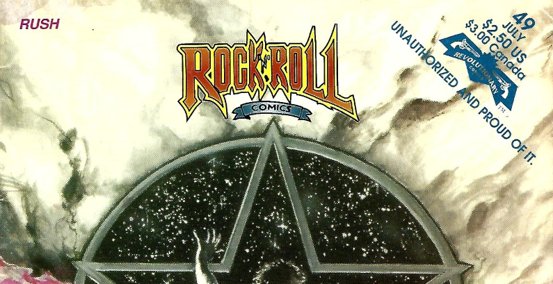 Extremely Rare! – Rock 'n' Roll Comics 1992 – RUSH