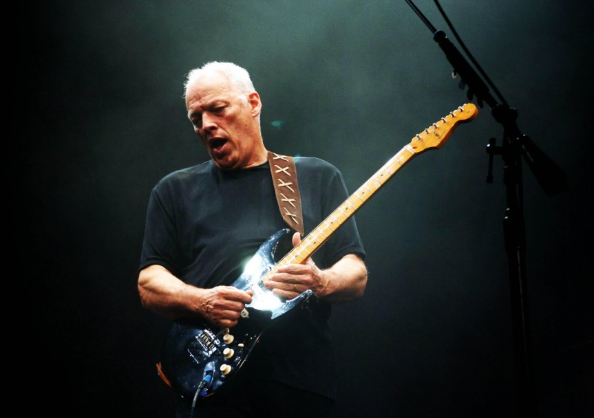 "David Gilmour (featuring Richard Wright) – ""Time"" – 2007"