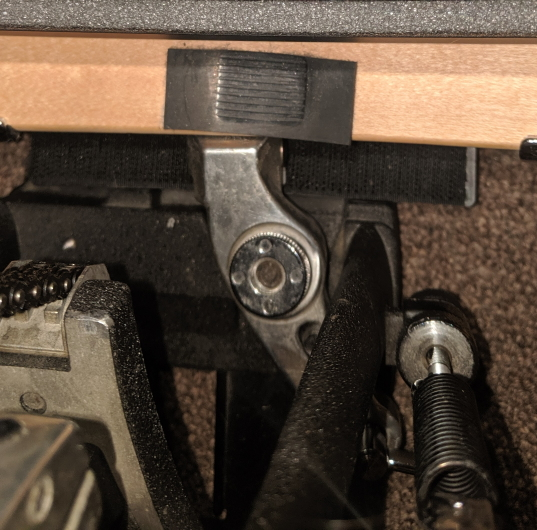 EBDL - Pedal clamp too close for comfort