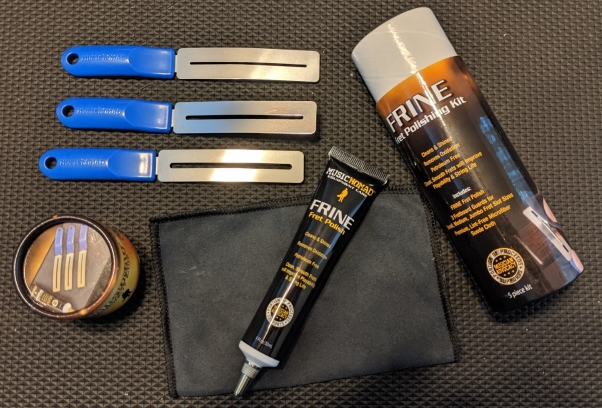 Review: Music Nomad FRINE Fret Polishing Kit
