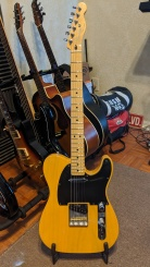 Fender Telecaster Special Edition Deluxe Ash guitar - Butterscotch Blonde finish