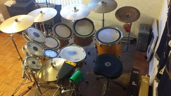 Ludwig Rocker 7-piece kit