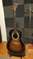 Ovation Custom Balladeer guitar