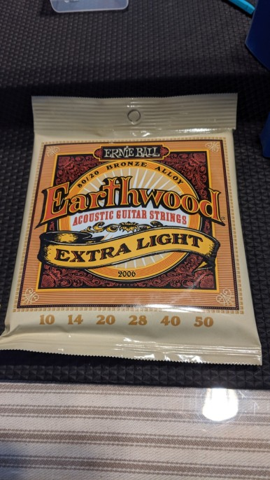 Ernie Ball - Earthwood strings