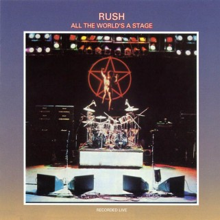 Rush - All The World's A Stage - Album cover