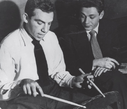 Buddy Rich and Freddie Gruber - 1946