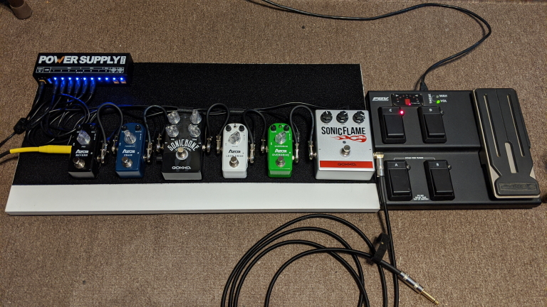 Constructing A Guitar Effects Pedalboard – Cheap!